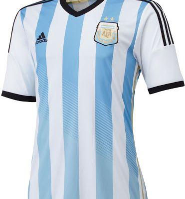 Argentinien Home Fußballtrikot WM 2014