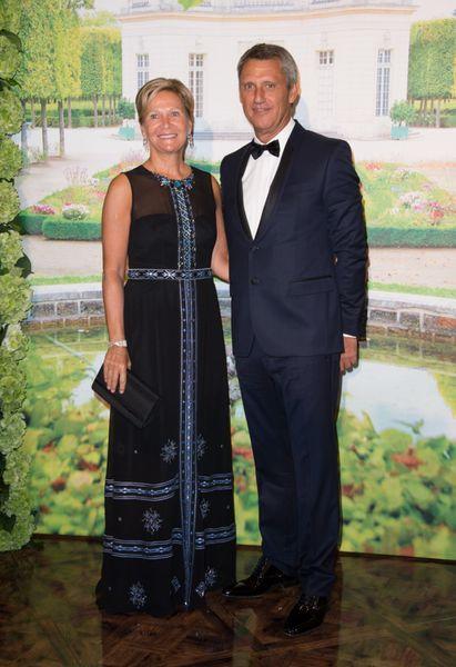 S.E. Philippe Narmino, Vice-Président de la Croix Rouge et son épouse.