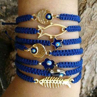 #moda #crochet #dije #estilo #azul #blue #modamarina