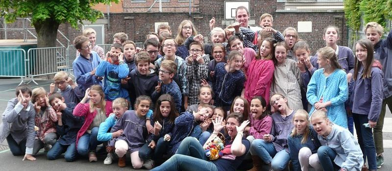 2 days at the French School in Mouvaux: Smiles, happiness and a lot of surprises ...