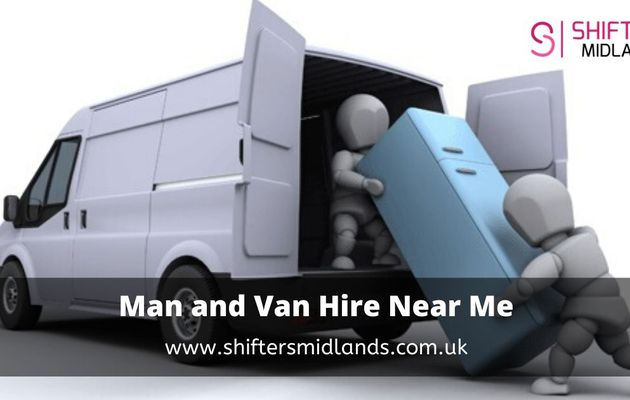 The best option for man and van hire near me – Shifters Midlands