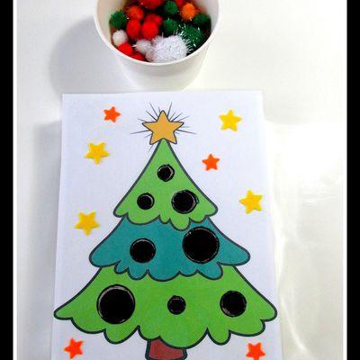 .. Jeux de Noel boite a chocolat ..