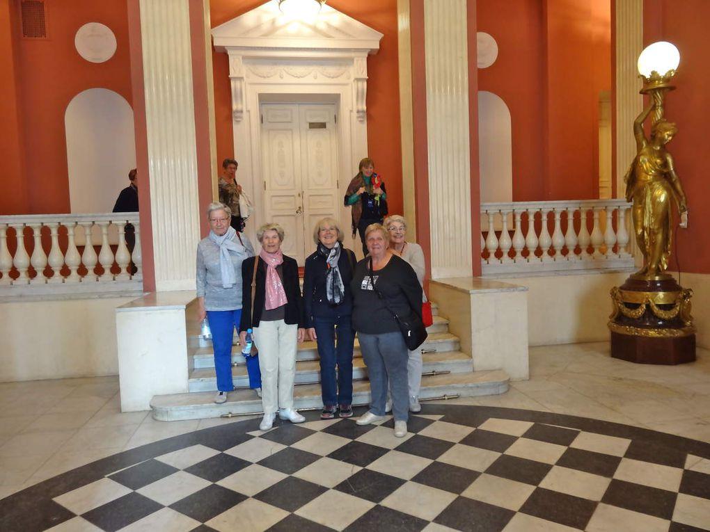 Palais de Pavlosk et Palais de Catherine à Pouchkine