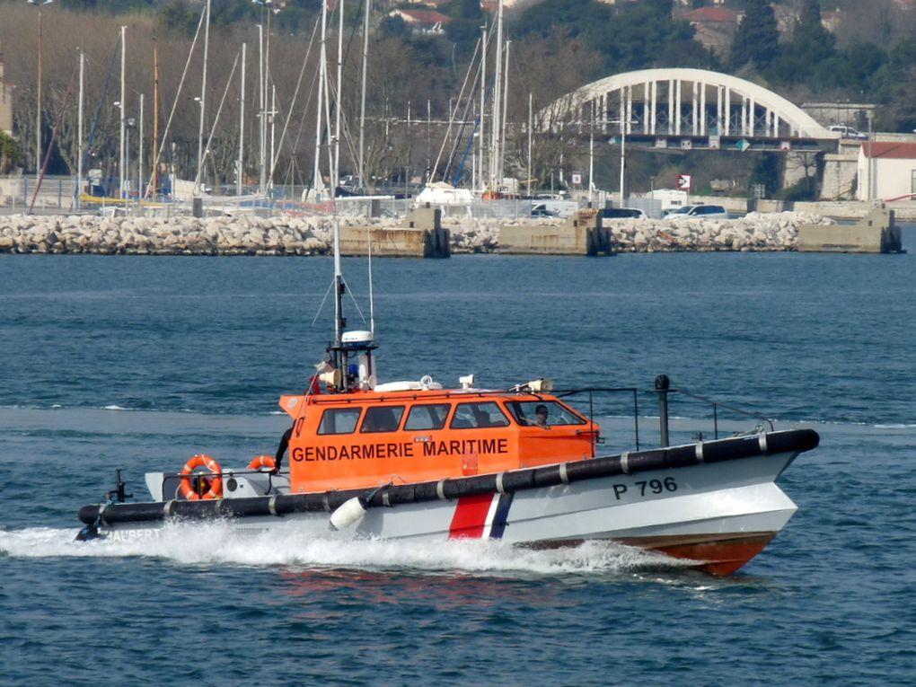 HAUBERT  P796 , vedette de surveillance maritime et portuaire ( VSMP)