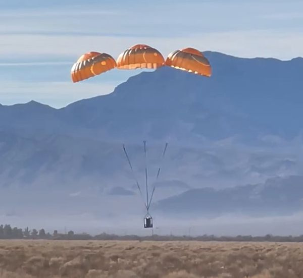 testing of ASR recovery parachute system for eFlyer 2 aerobernie