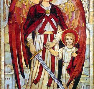 Chapelet des neufs choeurs des Anges     ou chapelet de saint Raphaël