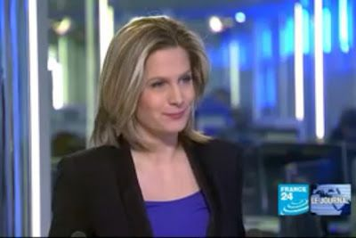 2012 02 19 @18H45 - SONIA PATRICELLI, FRANCE 24, LE JOURNAL