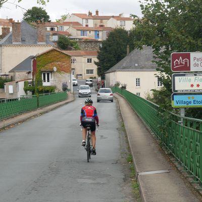 Le Tour de Vendée à vélo, 520 KM en 4 Jours. Etape 4 Le Mazeau – Les Herbiers