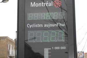 Velo a Montreal