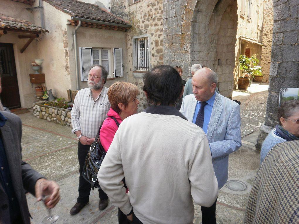 Vernissage expo de C. Fabre et J. poinlane le 25 mars 2012