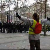 """VIDEO. """"Gilets jaunes"""": La vidéo d'un manifestant touché par un tir de LBD devient virale"""