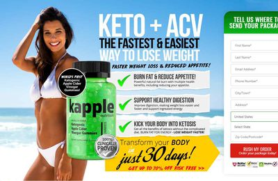 Kapple Keto Diet – Weight Loss While Not Workouts!