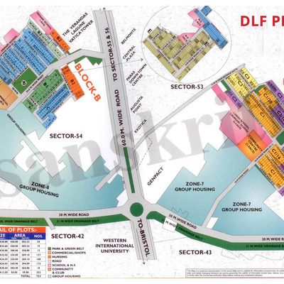 Residential plot for sale in DLF phase 5 gurgaon +91-9873498205