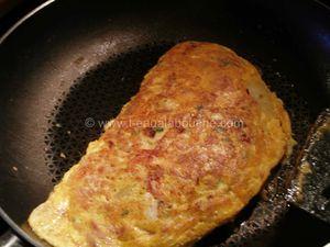 Omelette de Patates au Thon