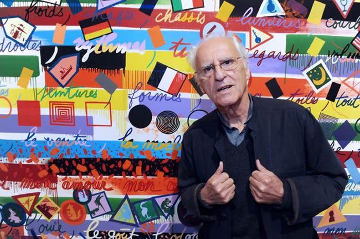 FRED TANNEAU / AFP Le peintre Gérard Fromanger ici en 2012.