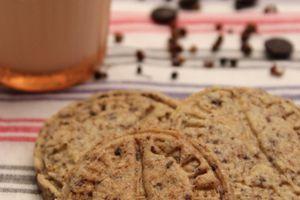 Biscuits chocolat noir poivre de sichuan