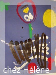 oeuvres réalisées dans les classes en 2009.