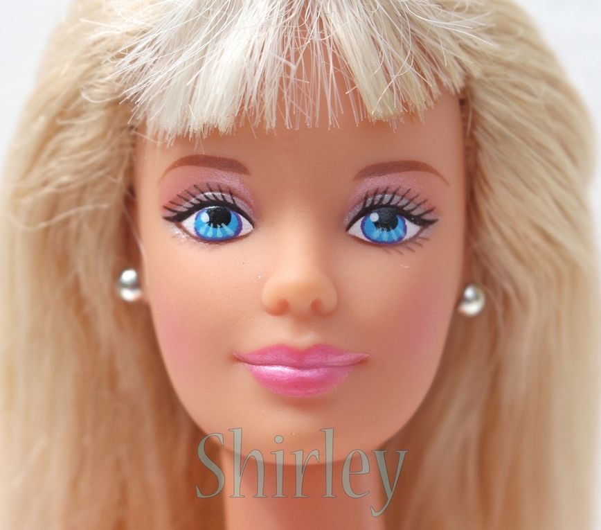 """COOL BLUE"" BARBIE DOLL 1998 MATTEL #20122"
