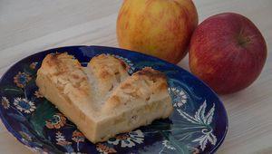 Gâteau aux pommes et au fromage blanc (recette WW Weight Watchers)