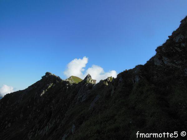 Les Marmottes Noires 2339m. part II. Le Bellacha 2484 m. Rando, La Lauzière-Grand Arc.