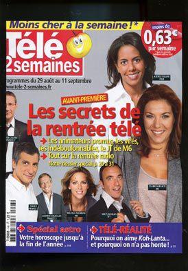 """""""Les secrets de la rentrée télé"""" (Télé 2 semaines)"""