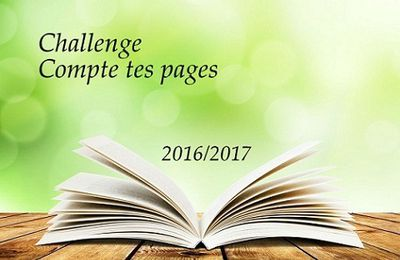 Challenge compte tes pages 2016/2017