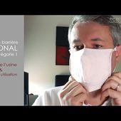 Masque textile LABONAL - Covid19 - UNS1 - Présentation et tuto utilisateur - [PEARLTV.FR]