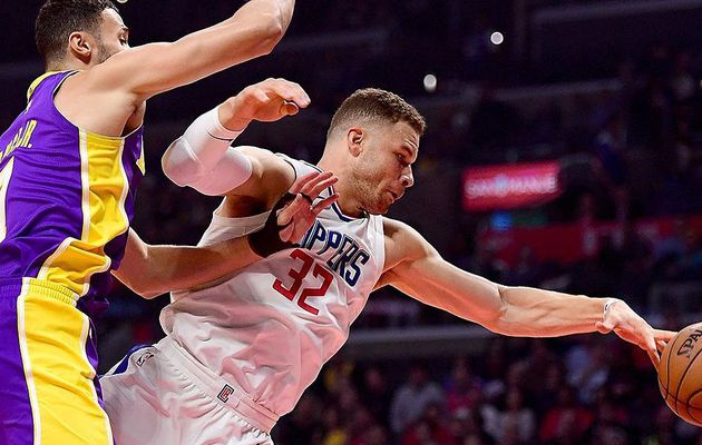 Blake Griffin absent huit semaines