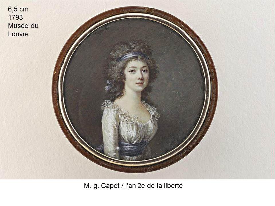 autres artistes féminines à découvrir (de la fin du XVIII et début XIX) : gabrielle Capet, marguerite Gérard, marie guillemine Benoist, henriette Lorimier, constance Mayer ( 2 oeuvres par artistes))