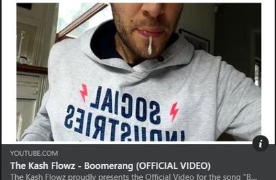 🎵 New Video - THE KASH FLOWZ - 'Boomerang'