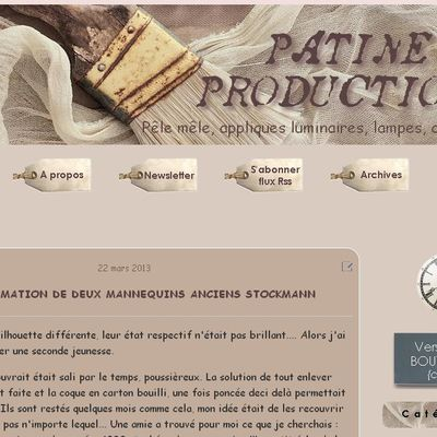 """Relooking blog """"Patine Production"""" - Canalblog"""