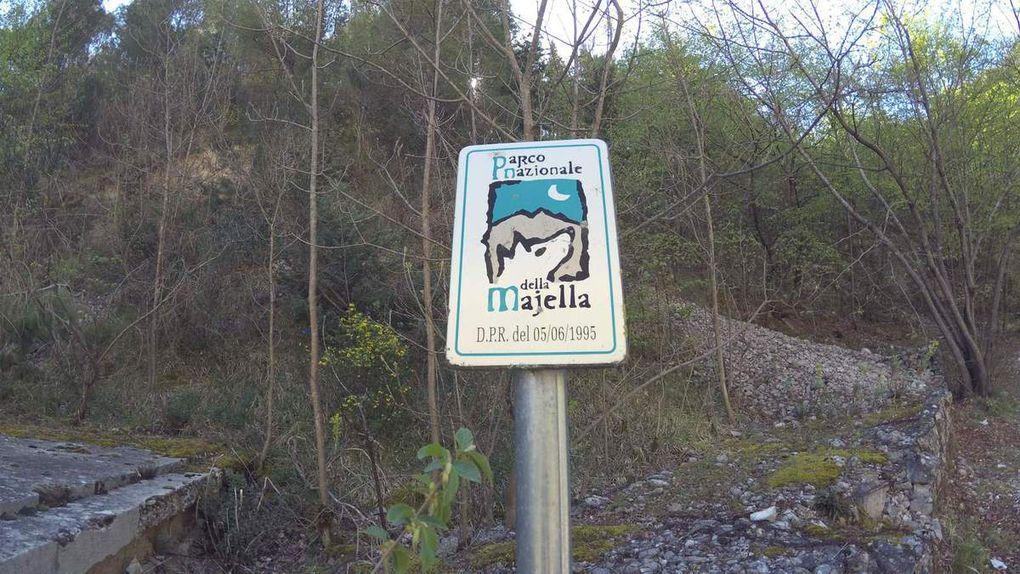 Gole di Fara San Martino - Sorgenti del Fiume Verde
