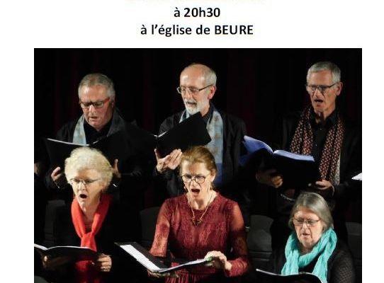 Concert Choralyre du 26 mai 2018