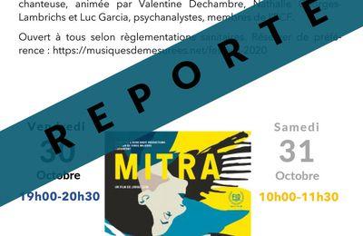 ACF MC - CINE-RENCONTRE - MITRA - REPORTEE