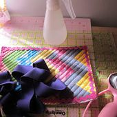 Mommy's Nap Time: No pins machine sewn binding tutorial