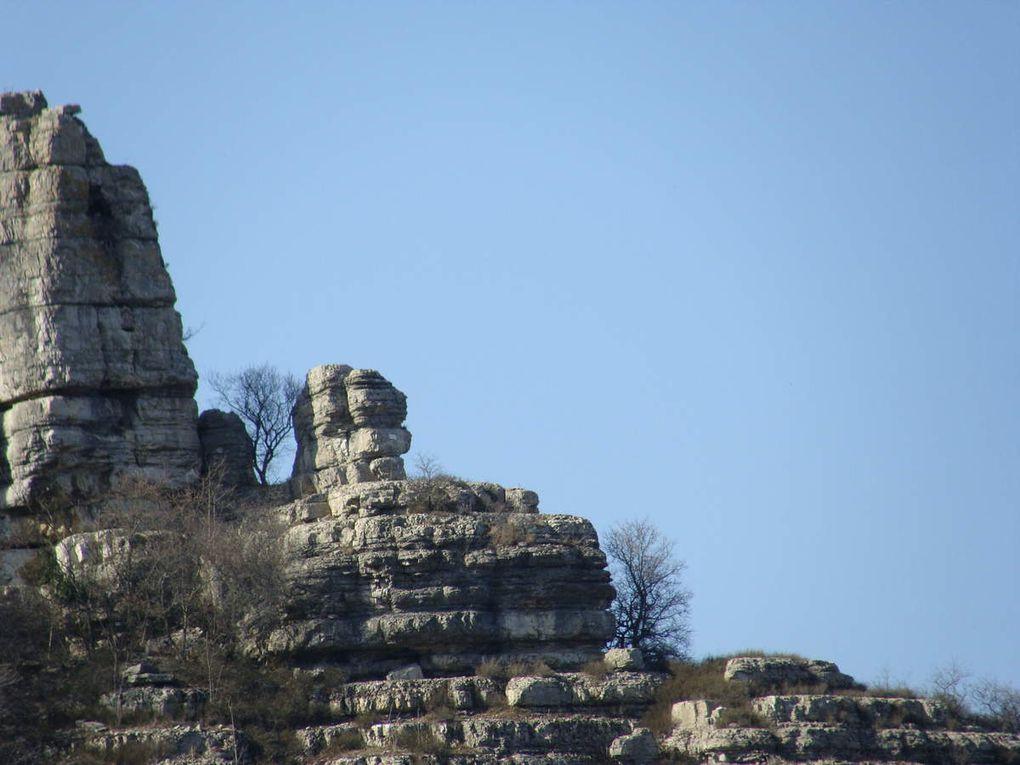 Ma rando. du mercredi :Ruines de St  Alban - St Julien St Alban 07