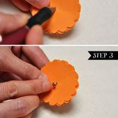 We can use tissue paper instead if that's easier! Also just follow steps 1 thru 4. We'll just use the flowers themselves instead of putting them on sticks