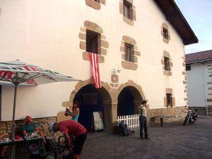 L'albergue près du monastère.
