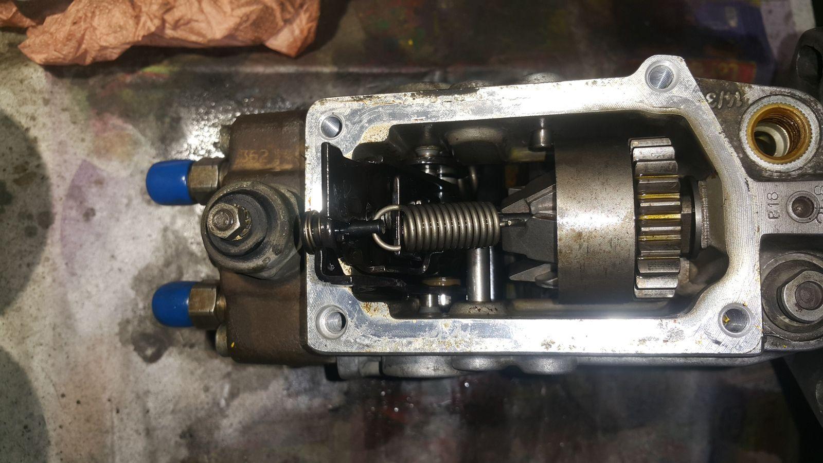 restauration pompe injection Bosch VE, master T35