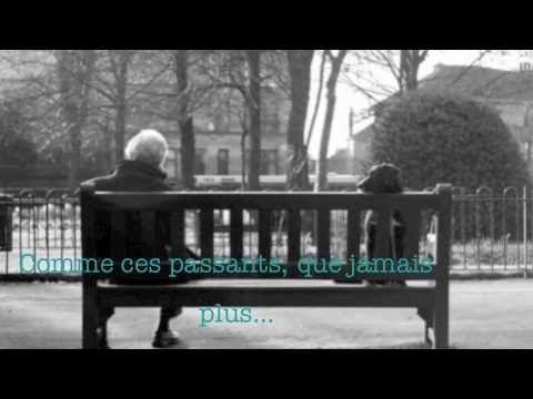 Prévert... le désespoir est assis sur un banc.