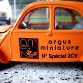 CITROEN 2CV 6 NUMERO SPECIAL ARGUS MINIATURES NOREV 1/43 - car-collector.net