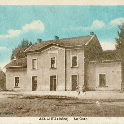Gare de Jallieu (38)