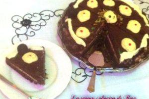 Gâteau danette à la créme au citron