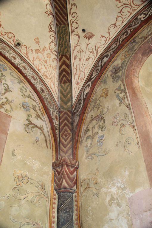 Sortie dans le Haut-Rhin , sur la Route Romane d'Alsace 1: Jebsheim  et Urschenheim