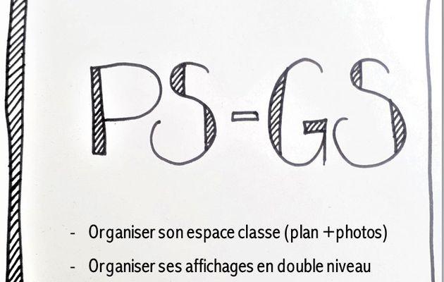 Organiser son double niveau : exemple avec des PS-GS