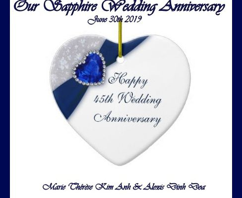 Our Sapphire Wedding Anniversay