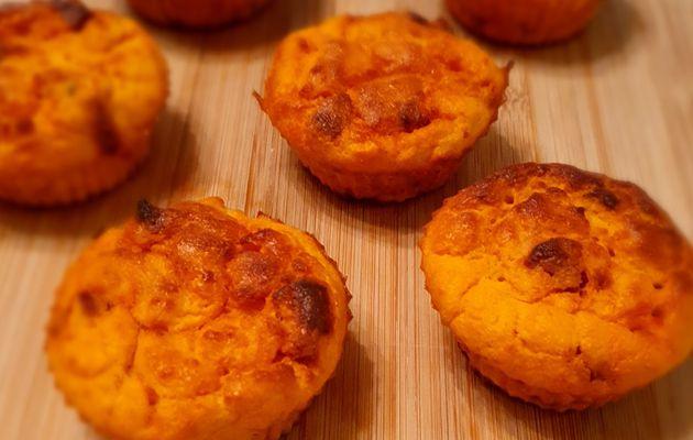 Muffins pois-chiche et chorizo