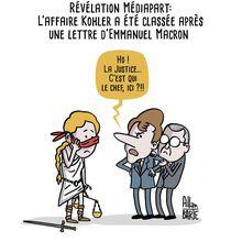 L'affaire Kohler a été classée après une pression directe de Macron sur la Parquet Financier