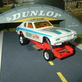 FORD CAPRI 1969 DRAGSTER AVEC PILOTE CORGI 1/43 WHIZZWHEELS - car-collector.net