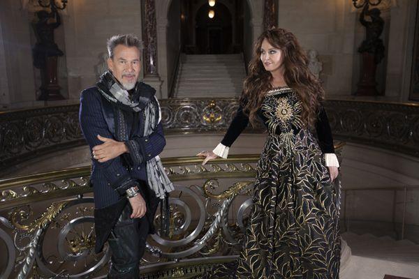 Sarah Brightman et Florent Pagny, le clip et le Nouvel album FRANCE